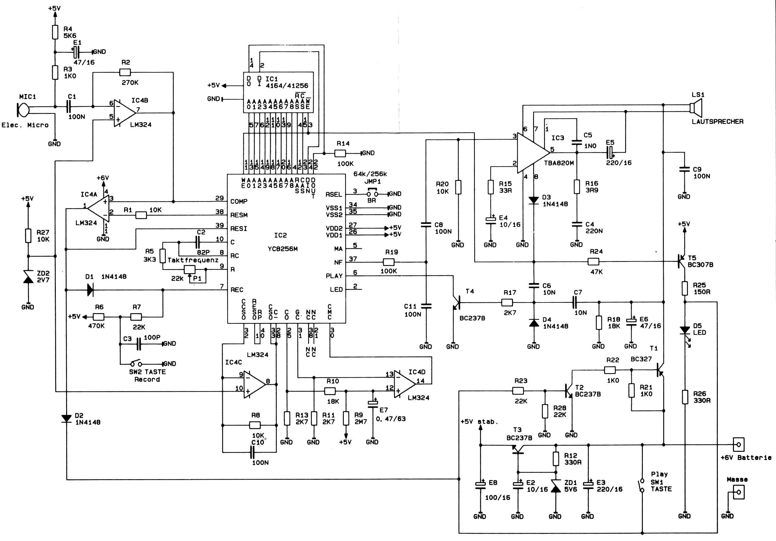 the radar scope pages linksyc8256m voice recorder schematic